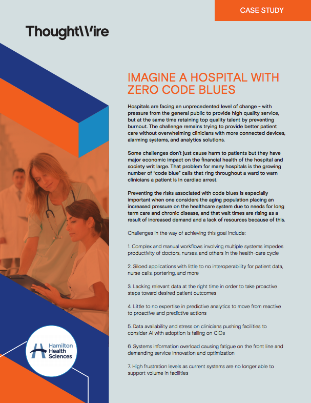 Healthcare Case Study - Hamilton Health Sciences