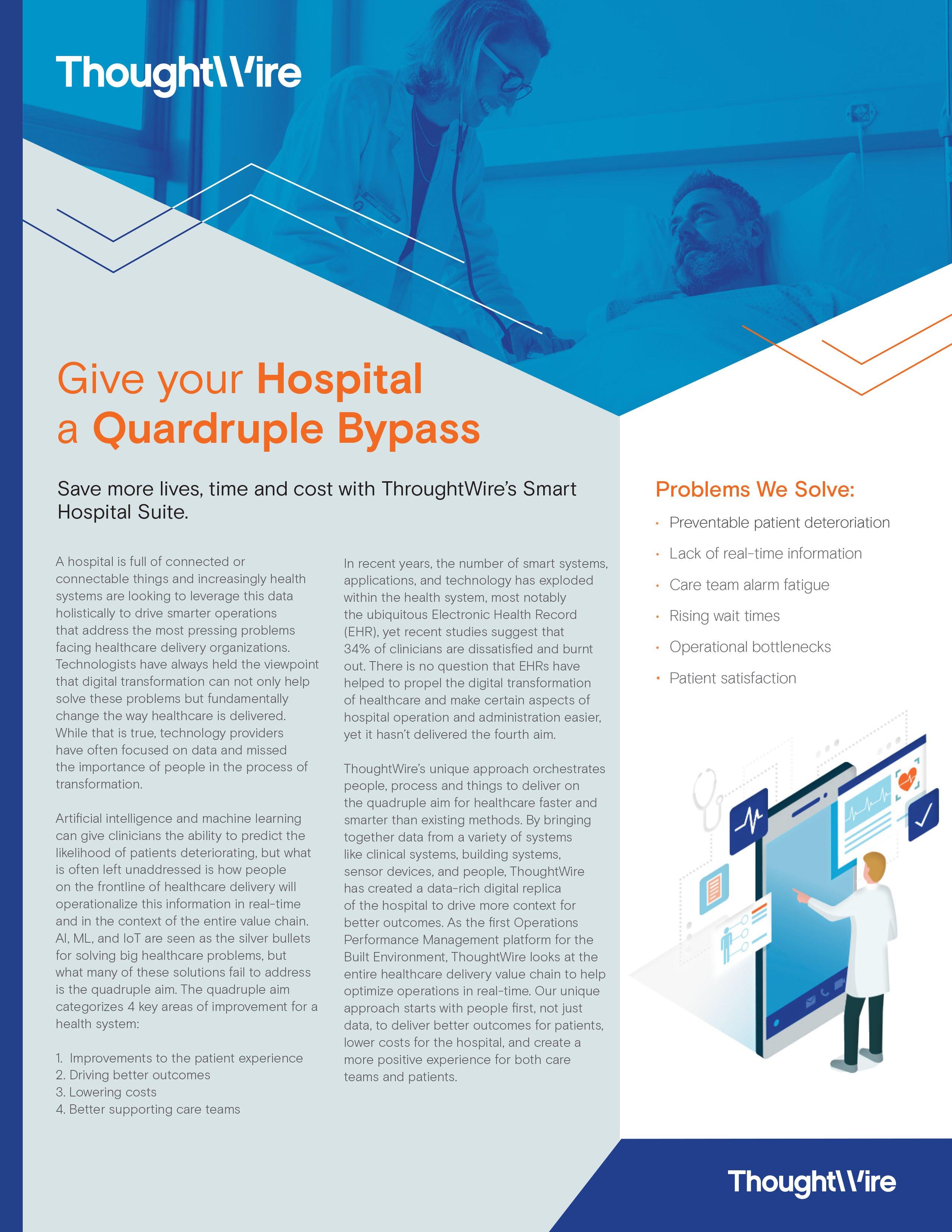 Smart hospital brochure