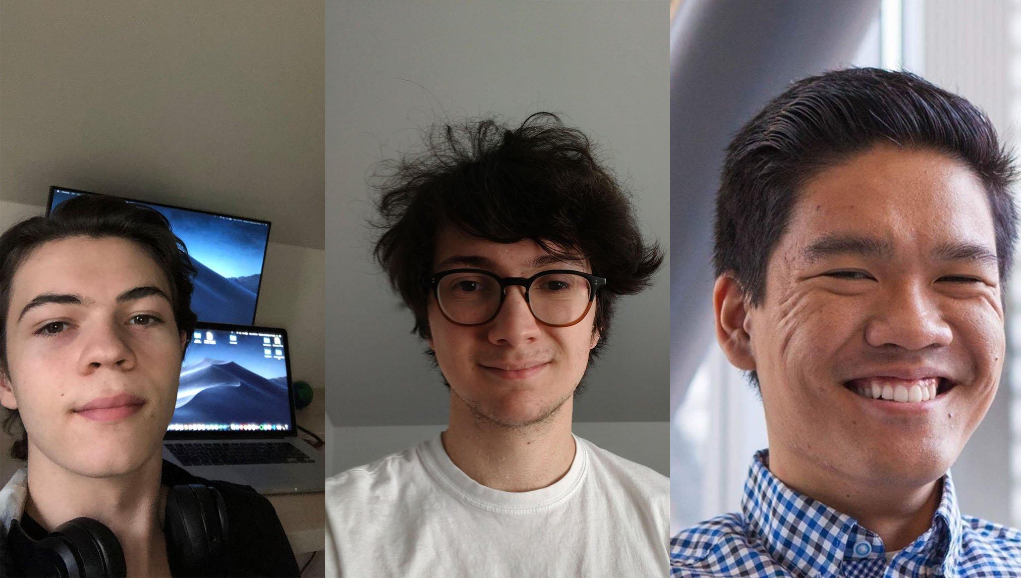 Intern blog photos- development team