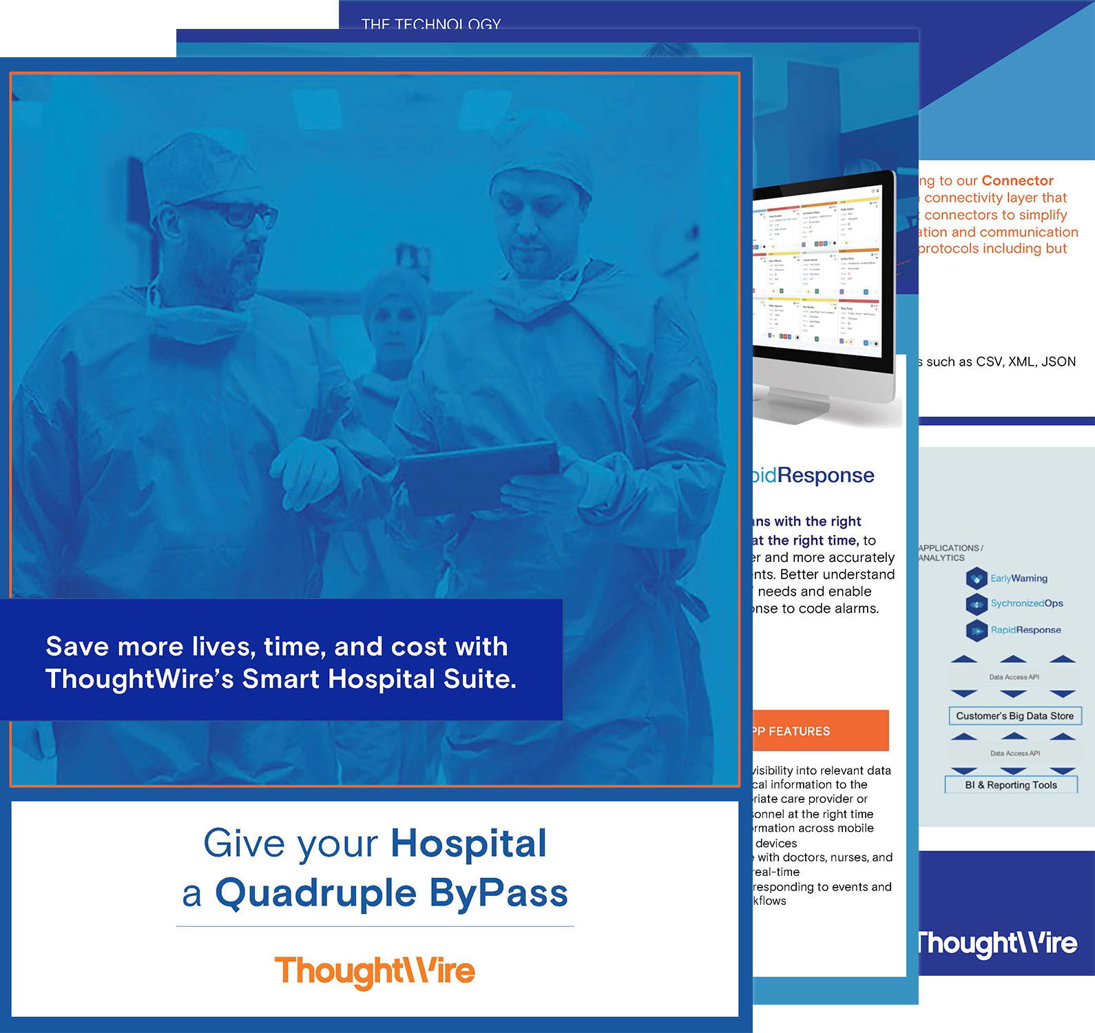 Give your Hospital a Quadruple ByPass Brochure